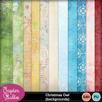 Christmas_owl_papers