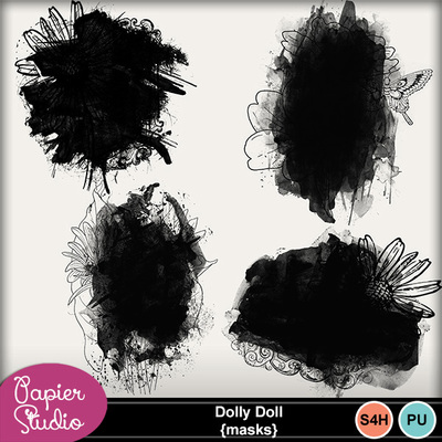 Dolly_doll_masks