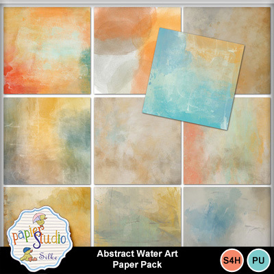 Abstract_water_art_paper_pack