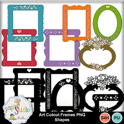 Art_cutout_frames_png_shapes