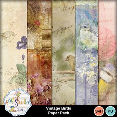 Vintage_birds_paper_pack