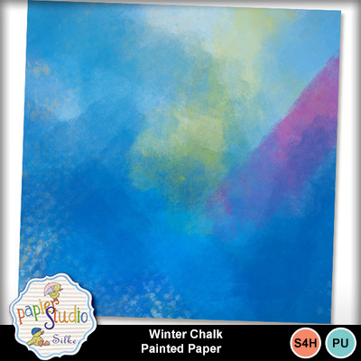 Winter_chalk_painted_paper