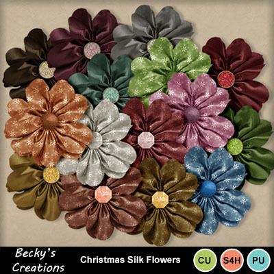 Christmas_silk_flowers