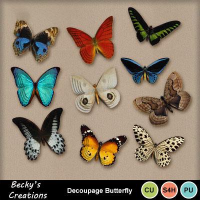 Decoupage_butterfly