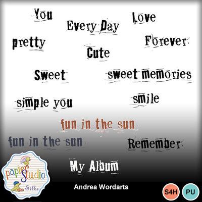 Andrea_wordarts