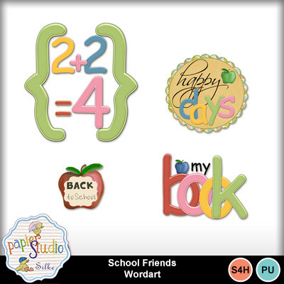 School_friends_wordart