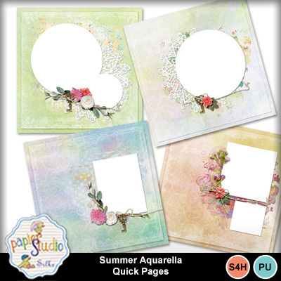Summer_aquarella_quick_pages
