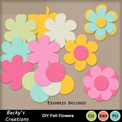 Diy_felt_flowers