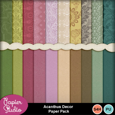 Acanthus_decor_paper_pack