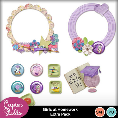 Girls_at_homework_extra_pack