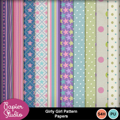 Girly_girl_pattern_papers