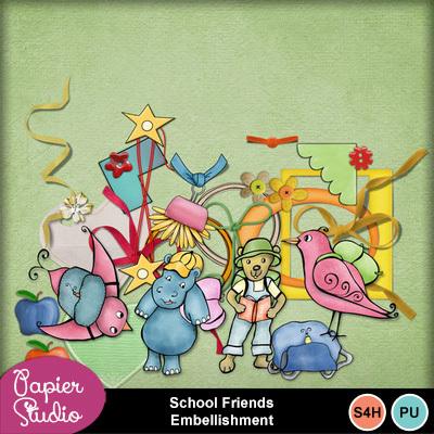 School_friends_embellishment