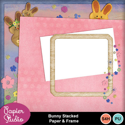 Bunny_stacked_paper_frame