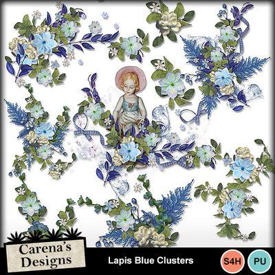 Lapis-blue-clusters