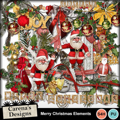 Merry-christmas-elements