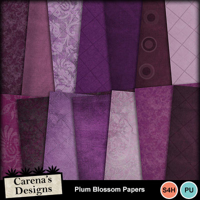 Plum-blossom-papers