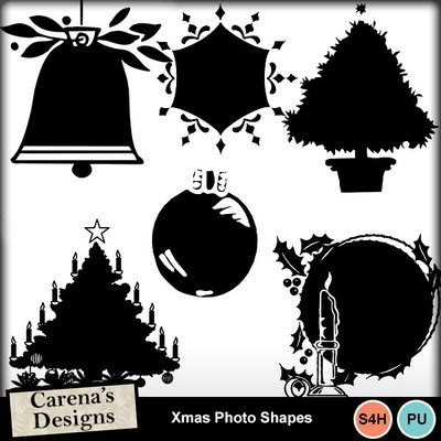 Xmas-photo-shapes