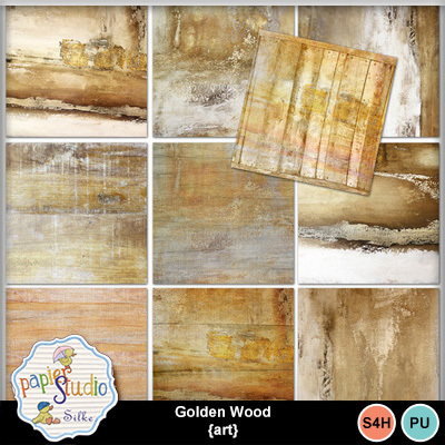 Golden_wood_art