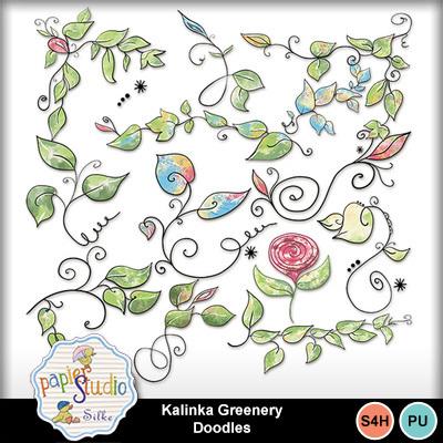 Kalinka_greenery_doodles