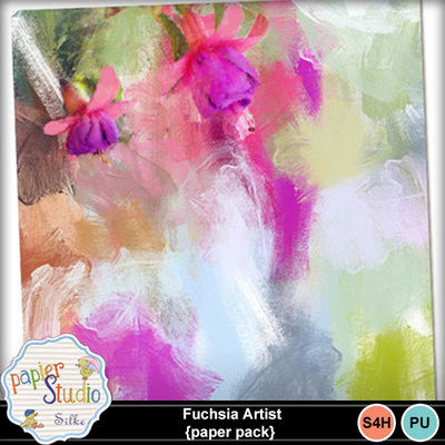 Fuchsia_artist_papaer_pack