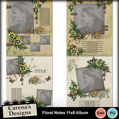 Floral-notes-11x8-album-01