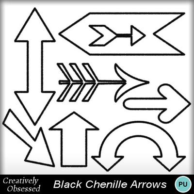 Black_chenille_arrows