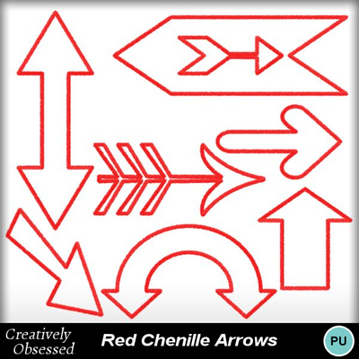 Red_chenille_stem_arrows
