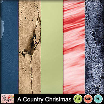 A_country_christmas_paper_preview