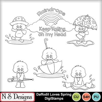 Daffodil_loves_rain_ds