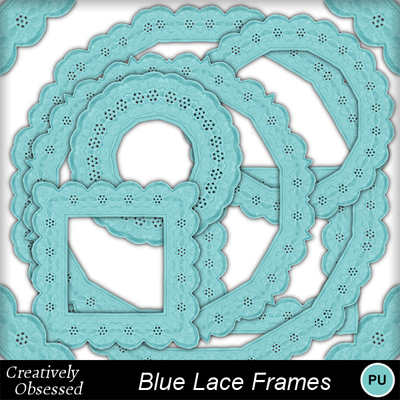 Bluelaceframes