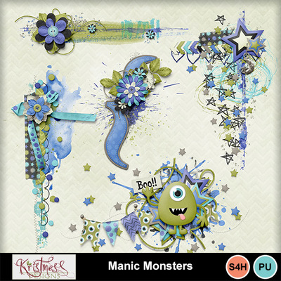 Manicmonsters_clusters