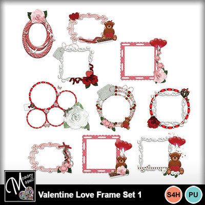Valentine_love_frame_set_1
