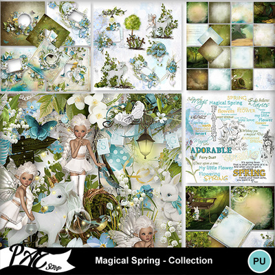 Patsscrap_magical_spring_pv_collection