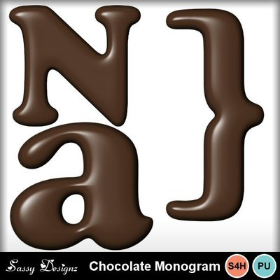 Chocolatemonogram