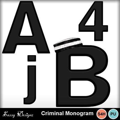 Criminalmonograms
