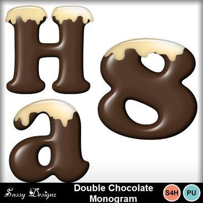 Doublechocolatemonogram