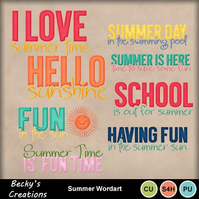 Summer_wordart