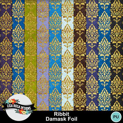 Lisarosadesigns_ribbit_damaskfoil