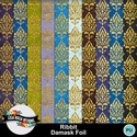 Lisarosadesigns_ribbit_damaskfoil_small
