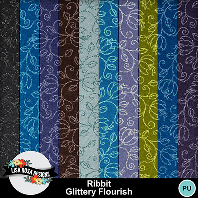 Lisarosadesigns_ribbit_glitteryflourish