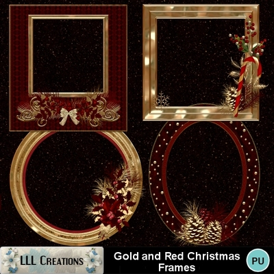Gold_red_christmas_frames-01