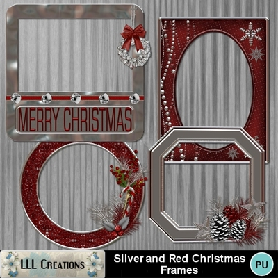 Silver_red_christmas_frames-01