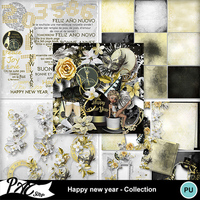 Patsscrap_happy_new_year_pv_collection