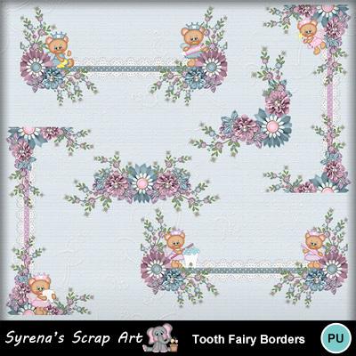 Clip Art Tooth Fairy Borders Syrenae Everyday Fantasy Kid