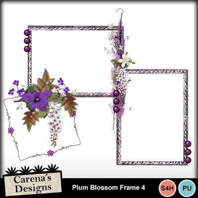 Plum-blossom-frame-4