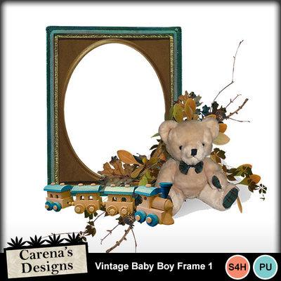 Vintage-baby-boy-frame-1