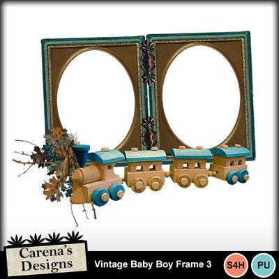 Vintage-baby-boy-frame-3