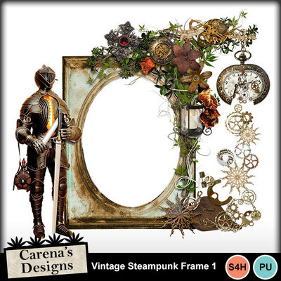 Vintage-steampunk-frame-1