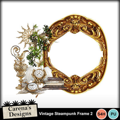 Vintage-steampunk-frame-2