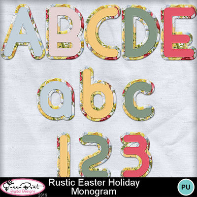 Rusticeasterholiday_monogram